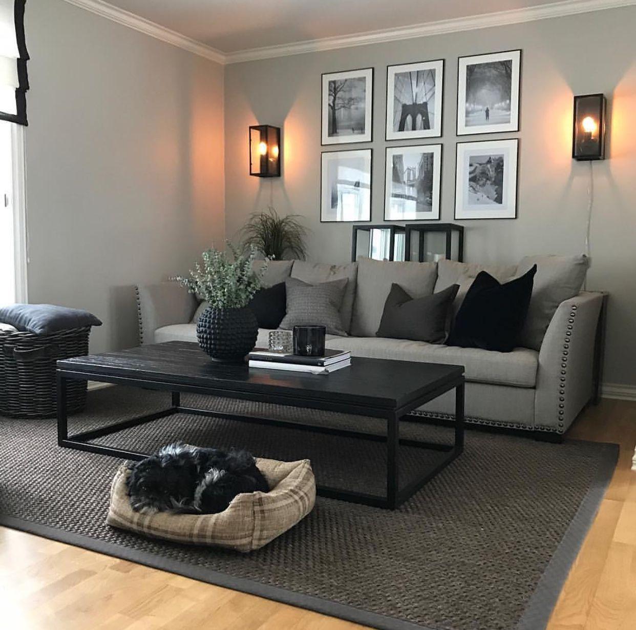 neutrallllllsss 🖤  Décoration salon appartement, Déco maison