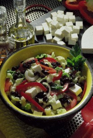 die besten 25 bunter salat ideen auf pinterest feta grill salatsch ssel und granatapfel gesund. Black Bedroom Furniture Sets. Home Design Ideas