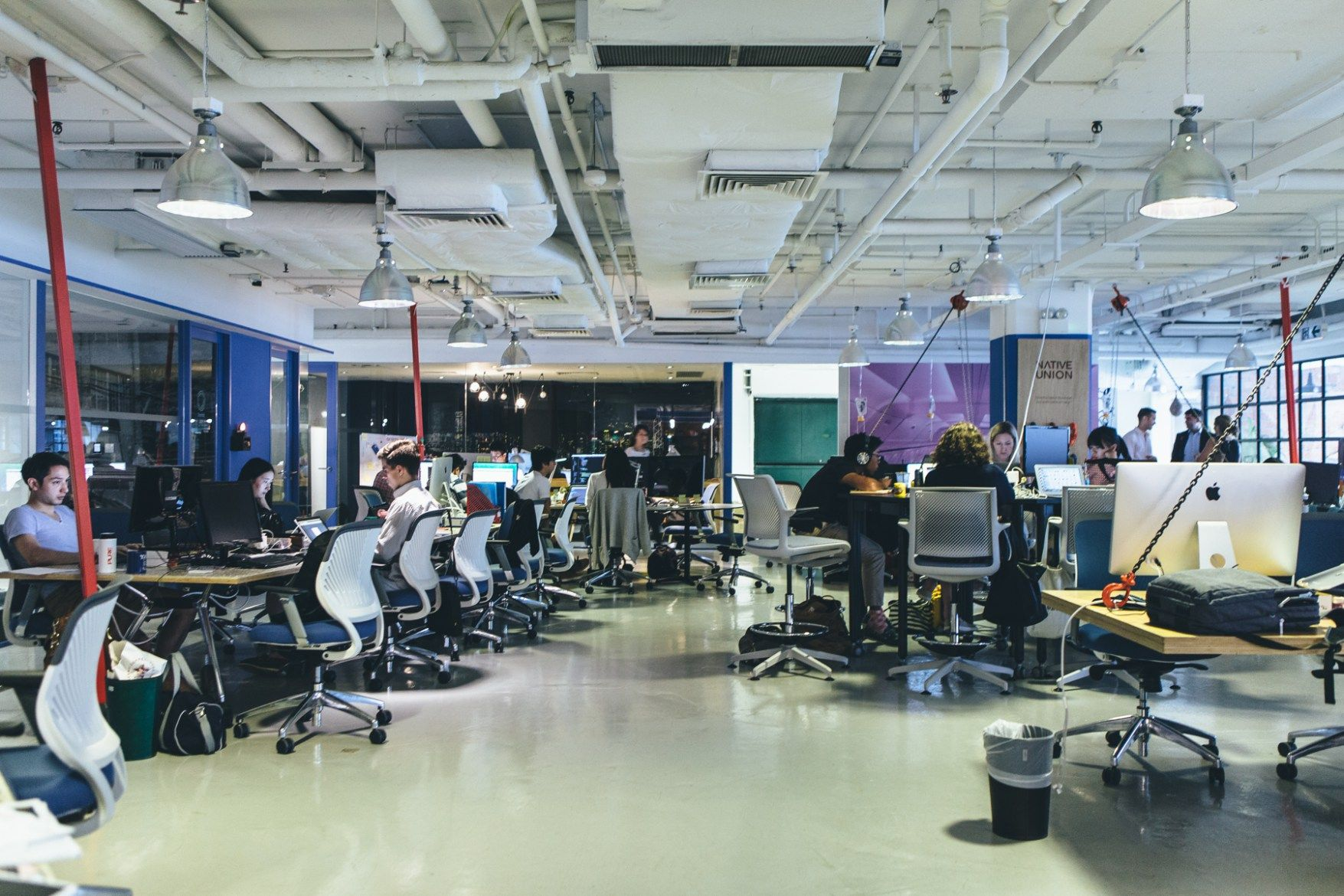 Spaces blueprint hong kong office interiors spaces and square feet malvernweather Images