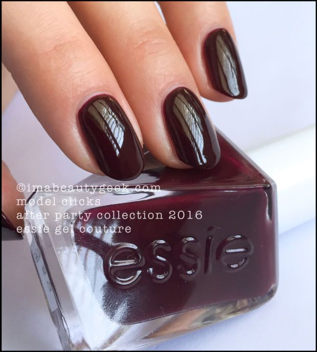 Essie Model Clicks - Essie Gel Couture 2016. All the swatches ...