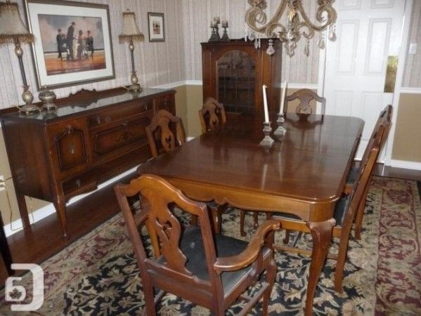 1920s Antique Dining Room Chairs Set Of, Dining Room Table Sets