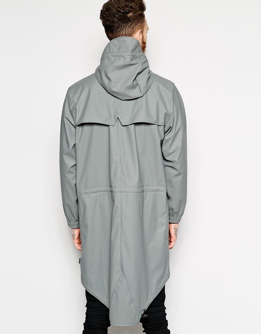 Image 2 of Rains Waterproof Parka Jacket | Lookbook (Fall/Winter ...