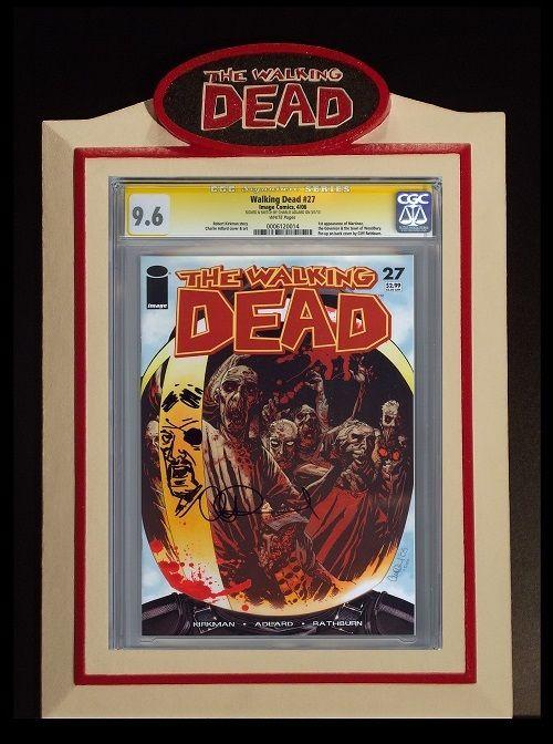 CCD - (Premier Series) Custom CGC WALKING DEAD Comic Book Display ...