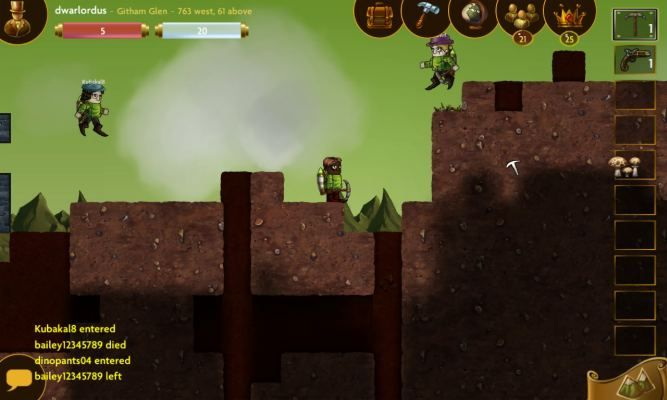 Deepworld is a 2D Free to Play [F2P] Crafting Adventure RPG MMO Game