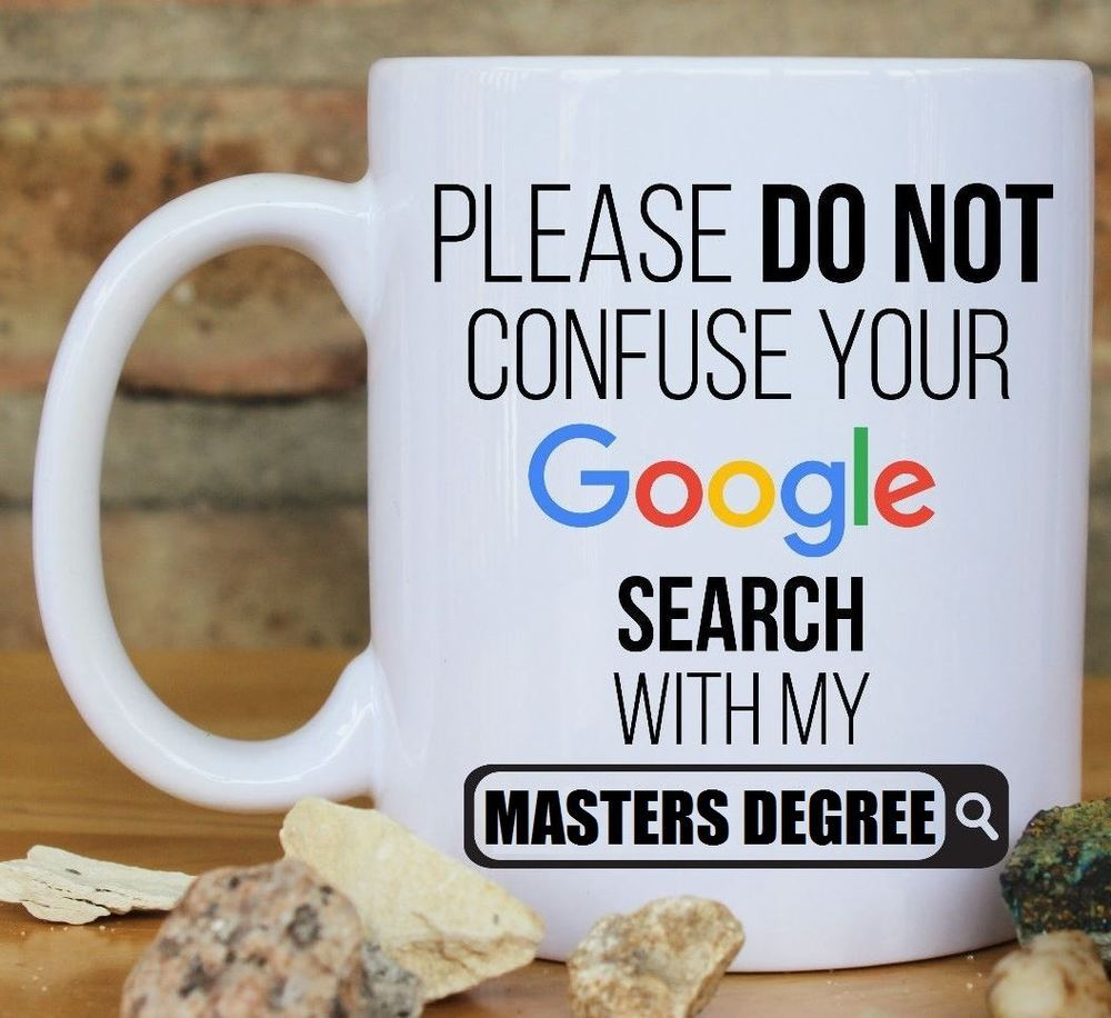 Gift For Masters Degree Graduate
