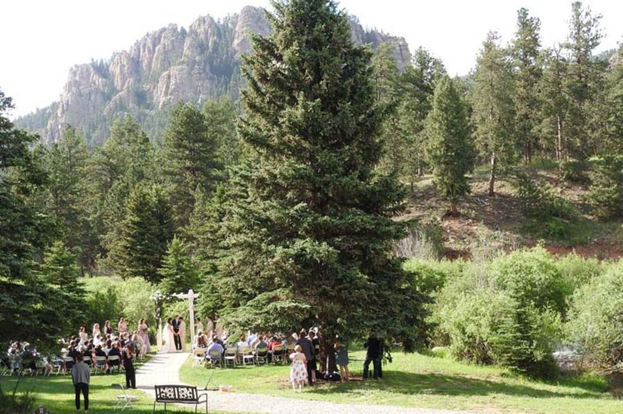 Wedgewood Weddings Mountain View Ranch In Pine Colorado