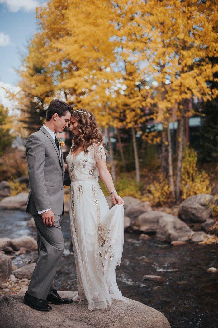 Glamorous Woodland Wedding at the Breckenridge Nordic