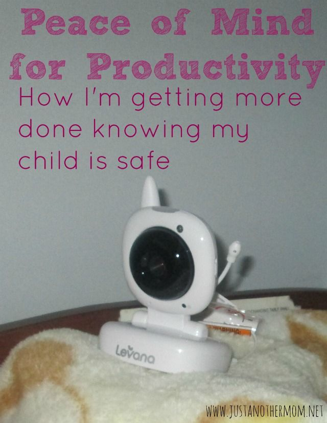 Peace of Mind for Productivity with the right baby monitor from Levana