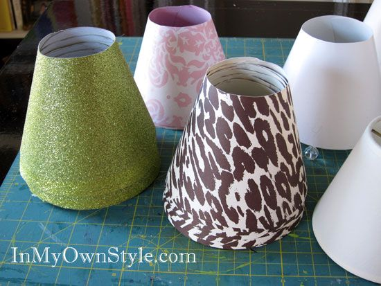 Stacked lamp shade covers how to make a basic lamp shade base with stacked lamp shade covers how to make a basic lamp shade base aloadofball Gallery