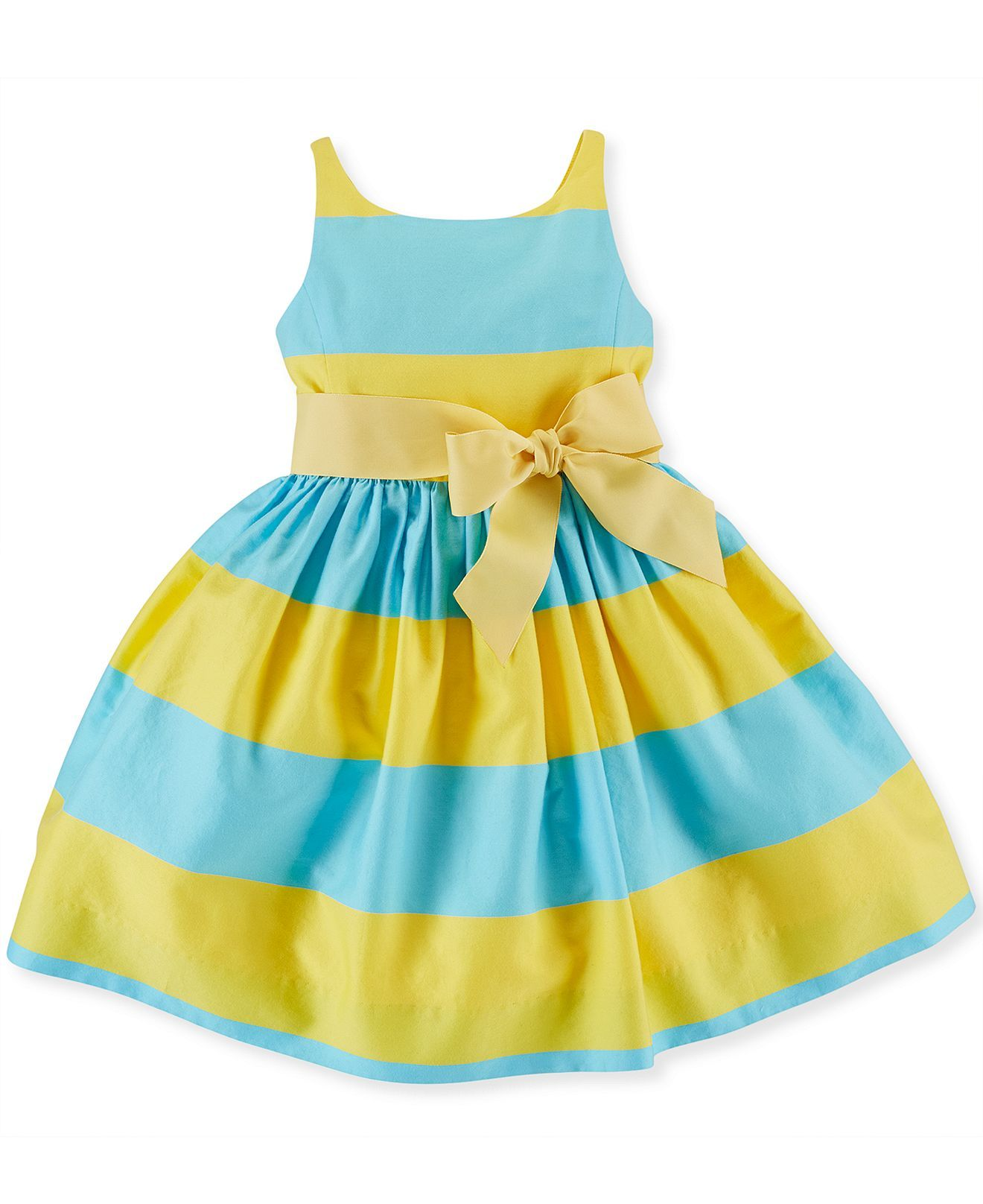 Polo Ralph Lauren Little Girls  Sateen Dress - Kids Girls 2-6X - Macy s 929d523b4ee9