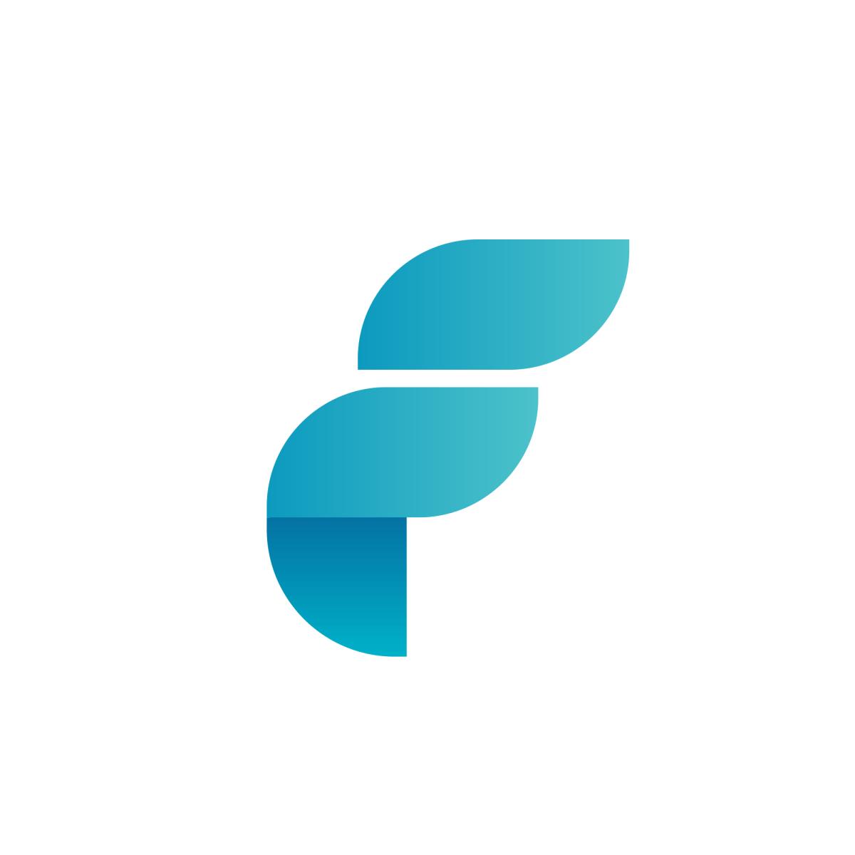 Fund Forum Poland Letter F Logo Design Typography Letter Logo