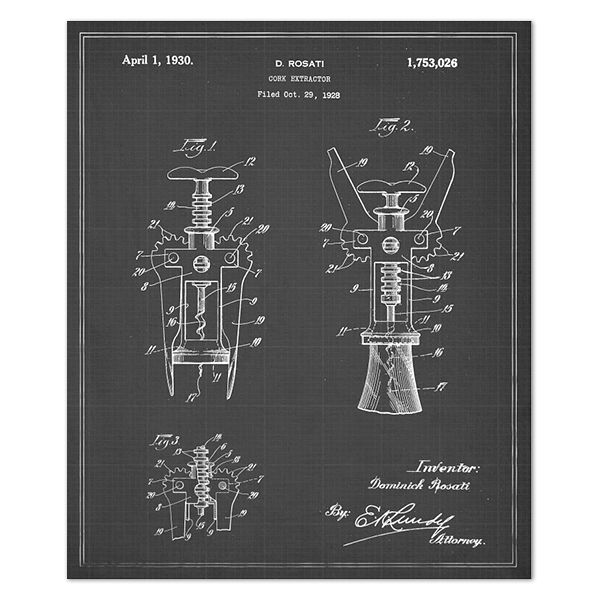 Vintage Blueprints for Famous Inventions Vintage - new blueprint plan company