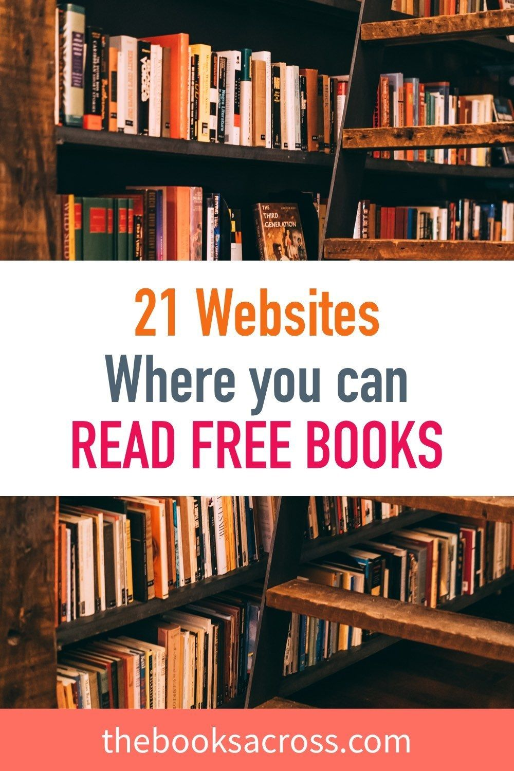 21 Websites Where You Can Read Books For Free Free books