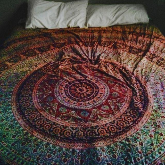 tapestry like bedspread