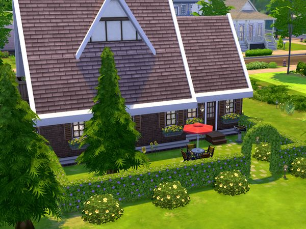 http://www.thesimsresource.com/downloads/details/category/sims4-lots-residential/title/sunflower-cottage/id/1264020/ at TSR via Sims 4 Updates