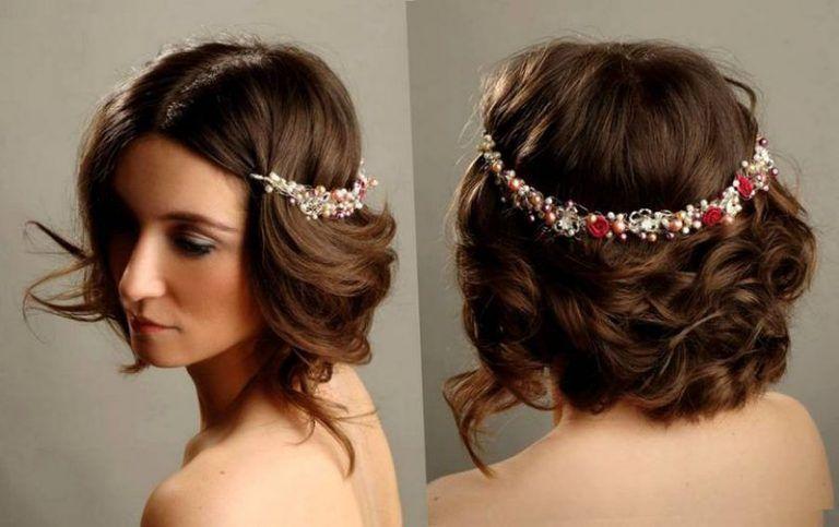 تسريحات للشعر القصير موسوعة Headbands For Short Hair Greek Hair Short Wedding Hair