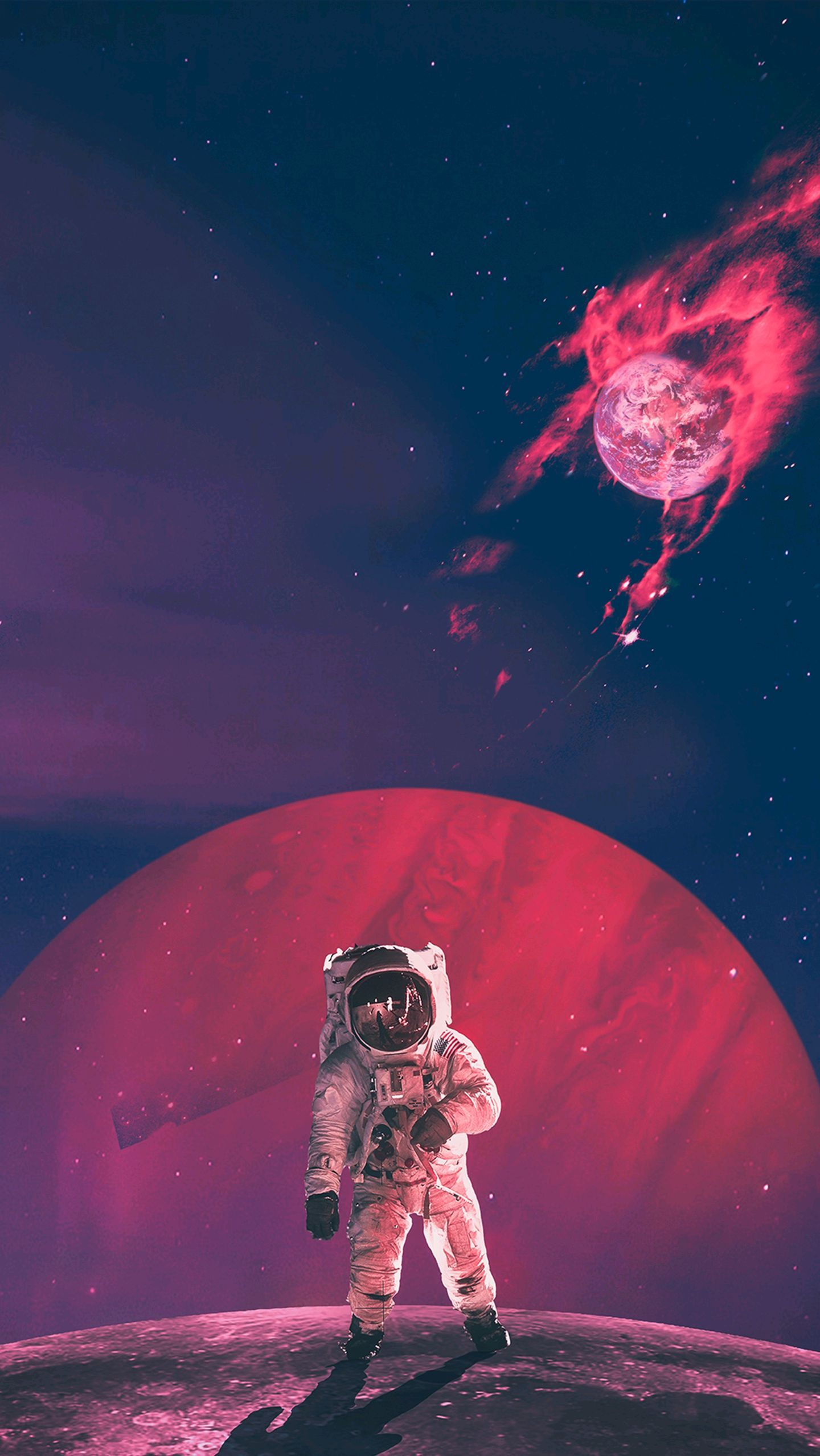 Space Aesthetic Wallpaper Iphone