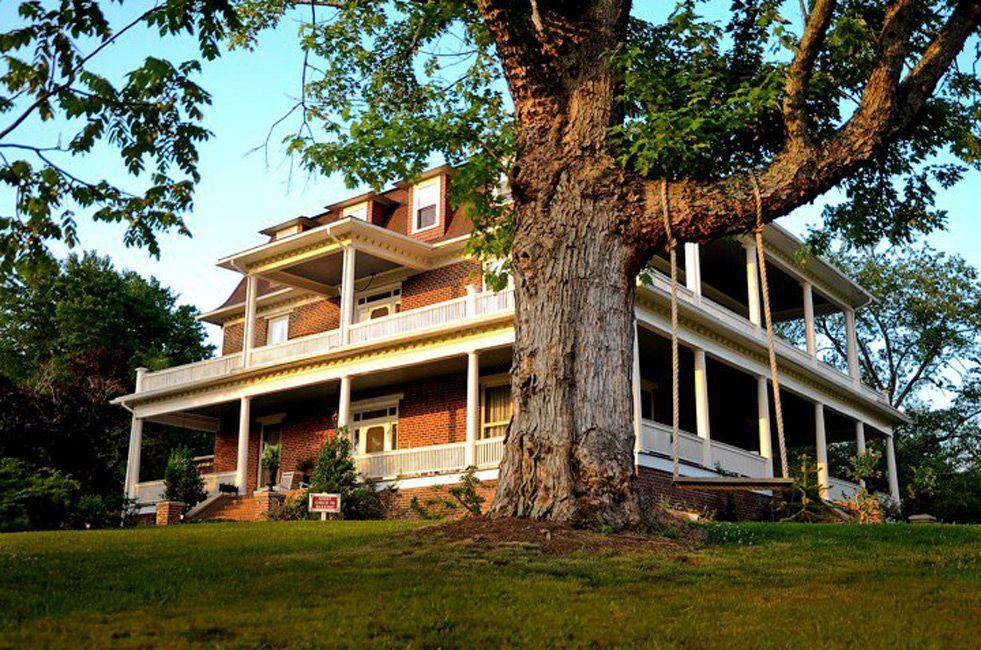 Asheville Best Bed & Breakfast Mansions, homes