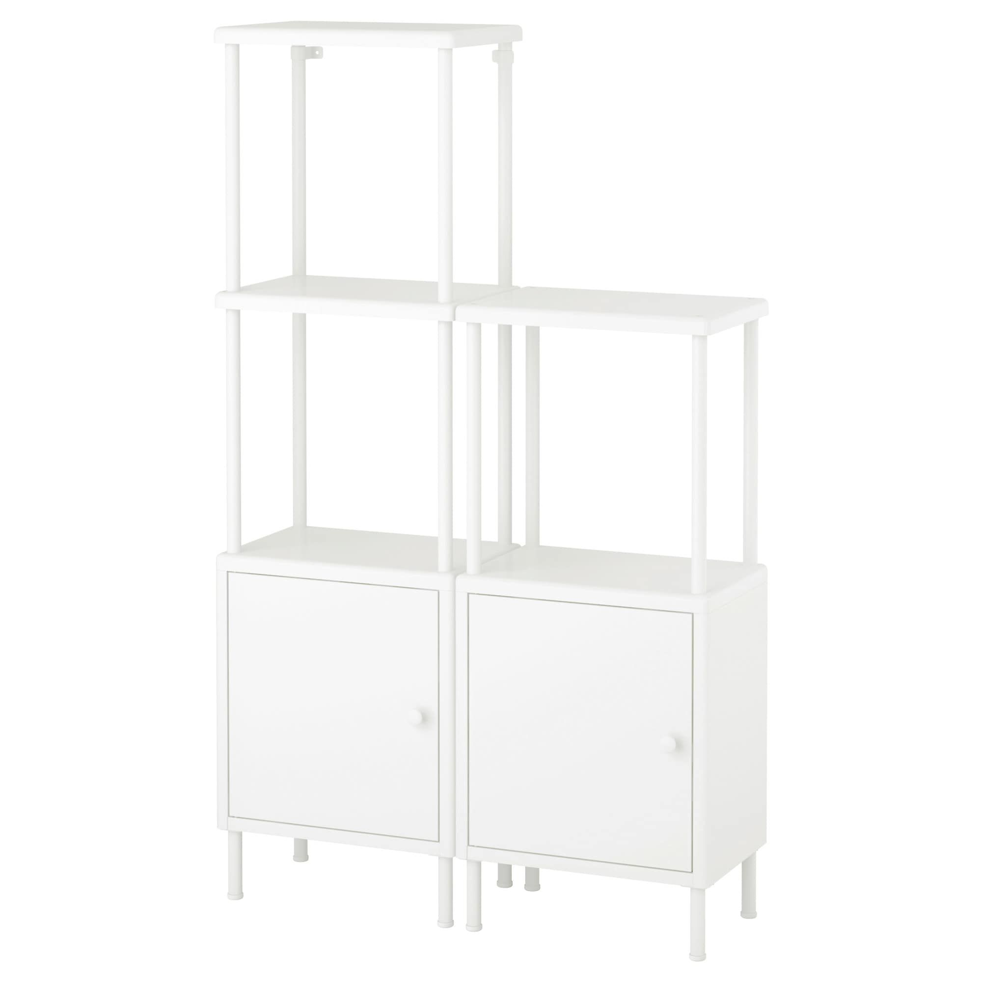 DYNAN white, Cabinet with door