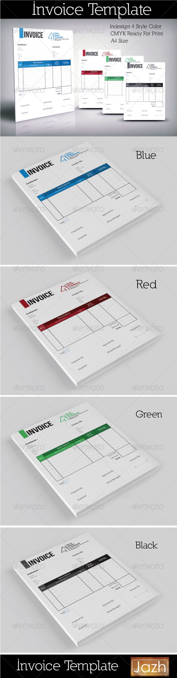 Invoice Template Clean  Template Clean Design And Proposal Templates
