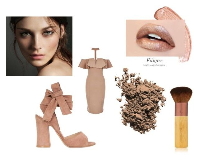""""""":-:"""" by candymwitherose ❤ liked on Polyvore featuring Rare London, Gianvito Rossi, Dolce&Gabbana, Burberry and EcoTools"""