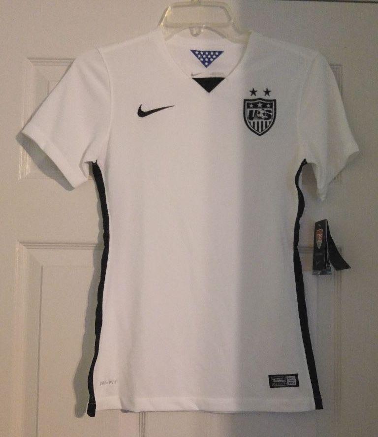 NEW Nike Team USA National Team World Cup Stadium Soccer Jersey WOMENS XS  683817  Nike  USA  Soccer  Jerseys 42ef51abe