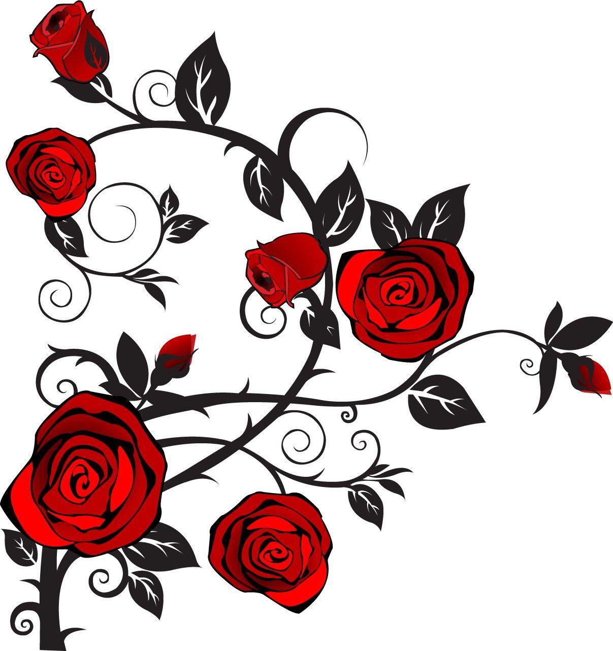 rose clipart Rose clipart, Rose tattoos, Girl tattoos
