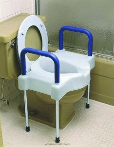Extra Wide Tall Ette Elevated Toilet Seat With Legs Raised Toilet