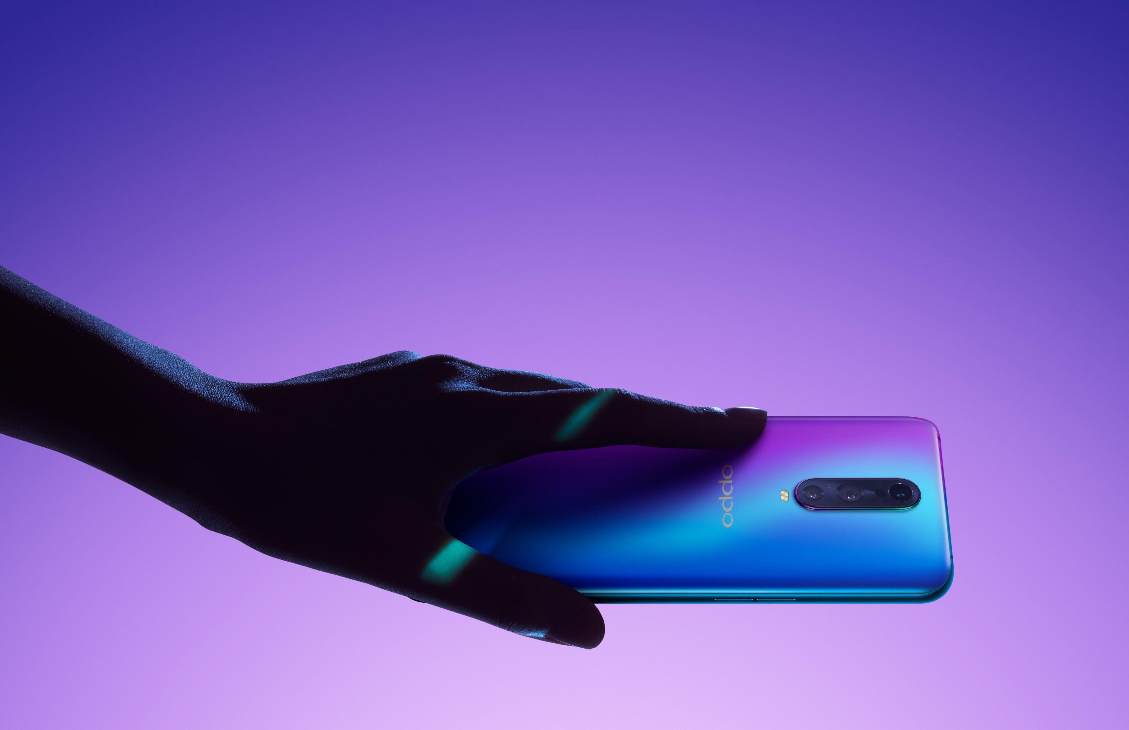 الإعلان رسميا عن الهاتف Oppo R17 Pro مع كاميرا خلفية ثلاثية ومستشعر للبصمة في الشاشة Finger Print Scanner Product Launch Scanner