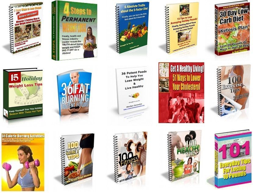 80 Fitness, Diet, Beauty and Health Pdf Ebooks With Master Resell ...