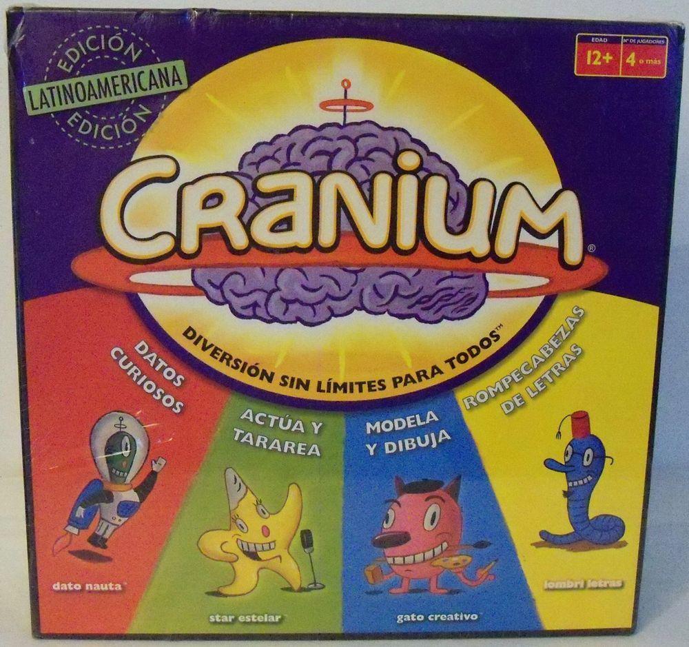 Cranium Spanish Latin American Edition Diversion Sin Limites Para Todos Mattel Cranium Board Game Cranium Board Games
