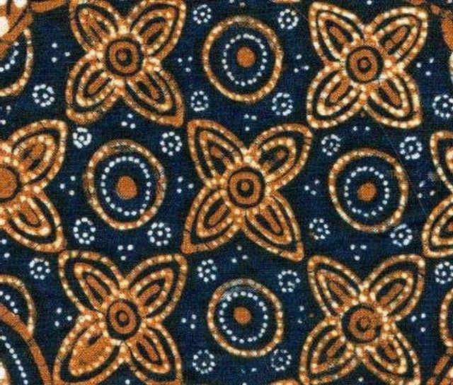 Gambar Batik Yogyakarta motif ceplok grompol Batik