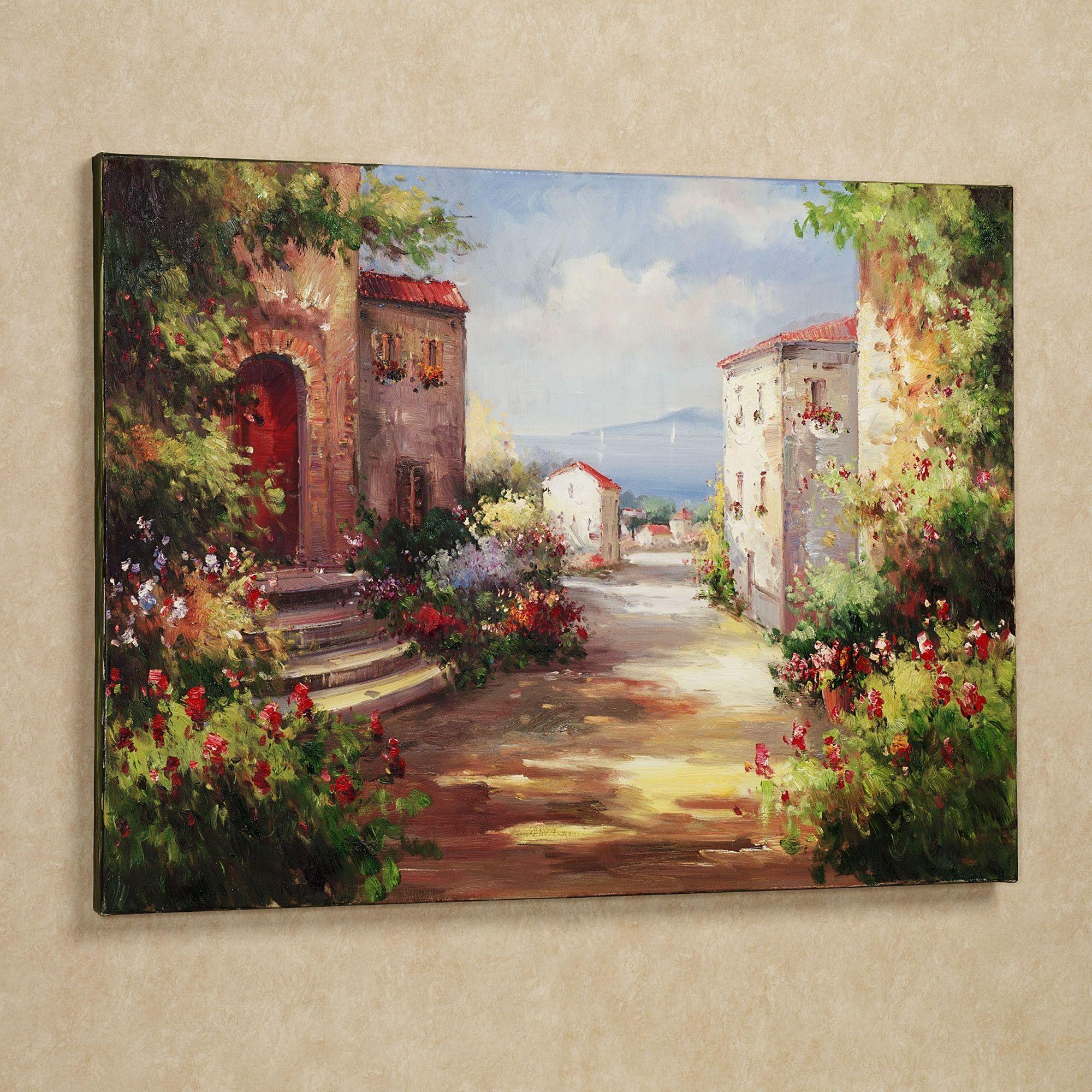 f3dec8ee9f0 Tuscan Summer Handpainted Canvas Art