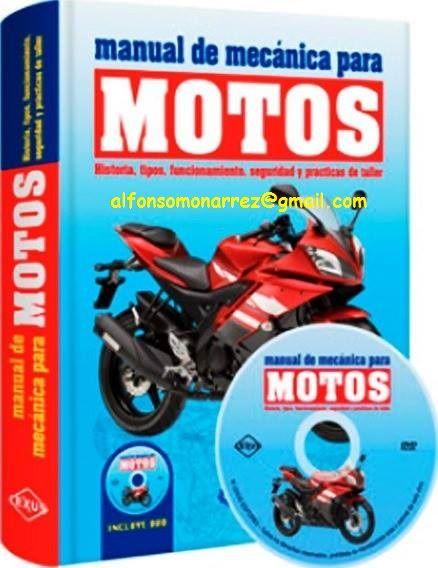 Manual De Reparación Mantenimiento De Motocicletas Motos Mecanica De Motos Libros De Mecanica Automotriz Manuales De Reparación