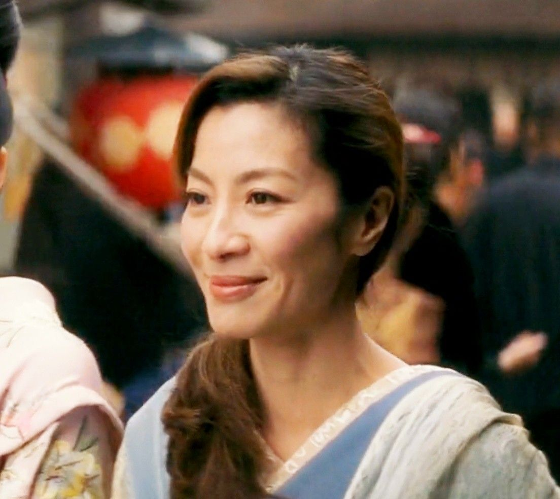 Michelle Yeoh In Memoirs Of Geisha Michelle Yeoh Michelle Memoirs Of A Geisha
