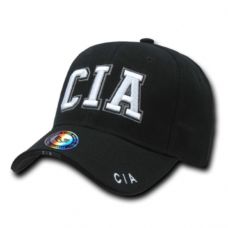 fc18b37aad6b9 Black Central Intelligence Agency Cia C.I.A Baseball Ball Cap Hat Caps Hats   ebay  Fashion  baseballball