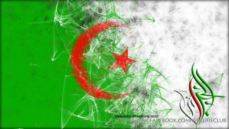 Fond D Écran Algerie fonds d'écran art - numérique > fonds d'écran voyage - drapeaux