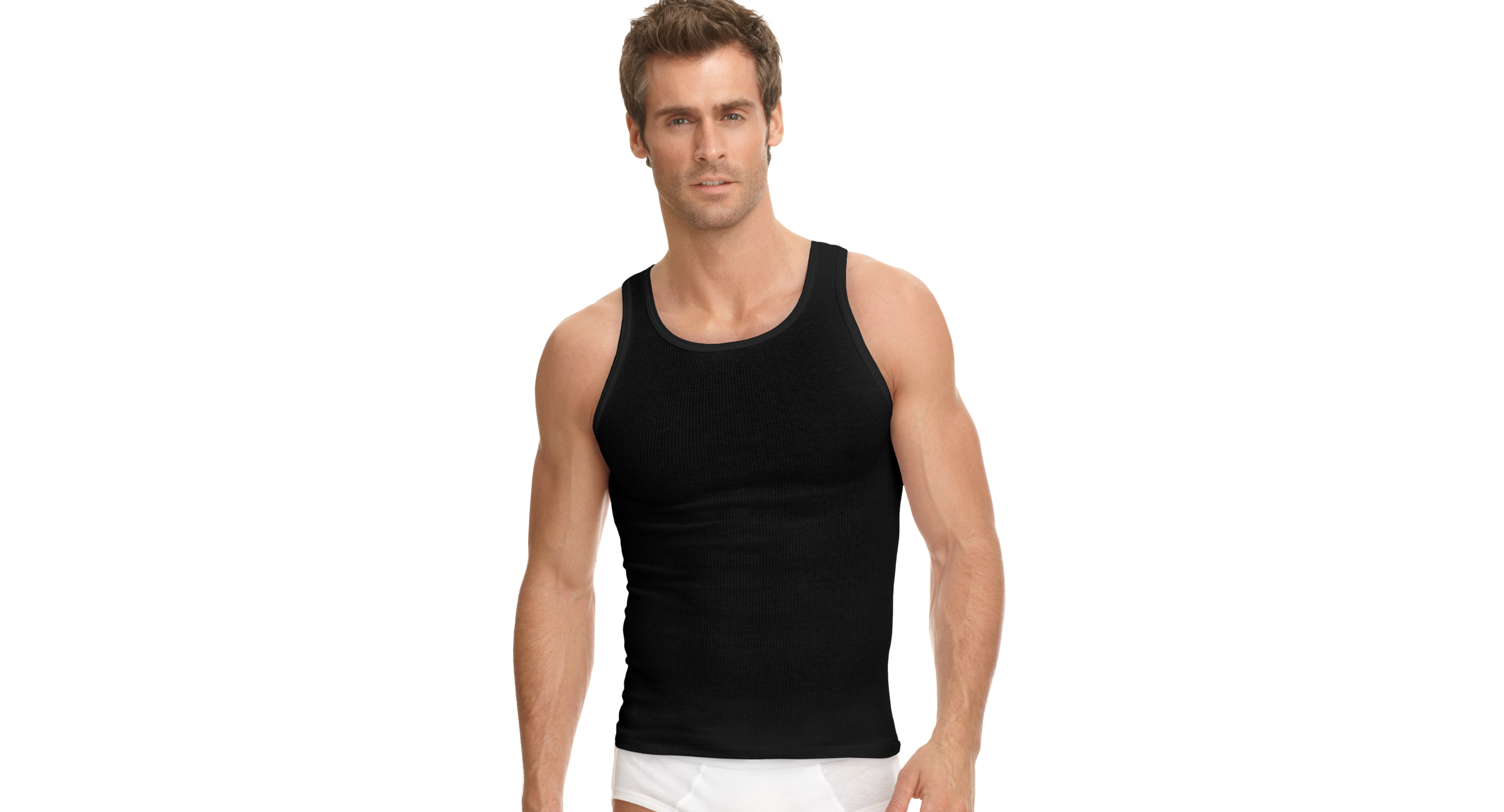 99f73bd8 Men's Underwear, Classic Ribbed Tagless Tank 3 Pack | Products ...