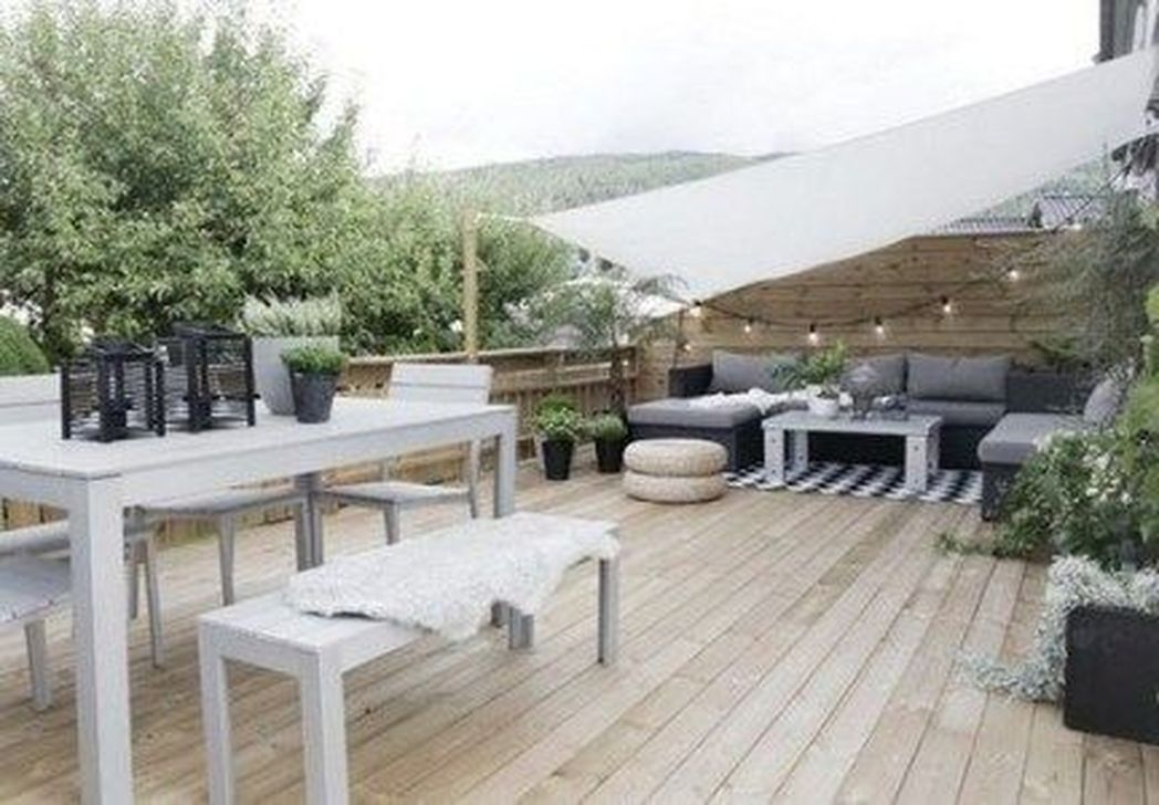 20 Latest Wood Terrace Design Ideas You Can Try This Summer Med Bilder Utomhusrum Utomhusliv Utomhusutrymmen