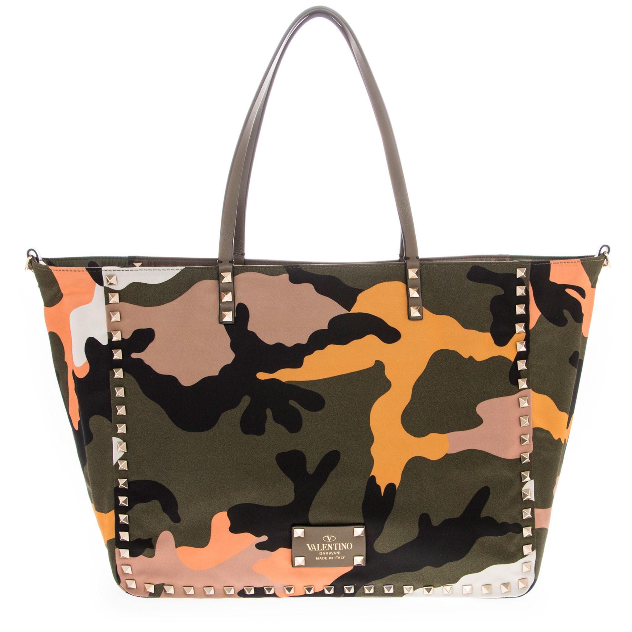 Valentino Rockstud Reversible Tote Bag Women's