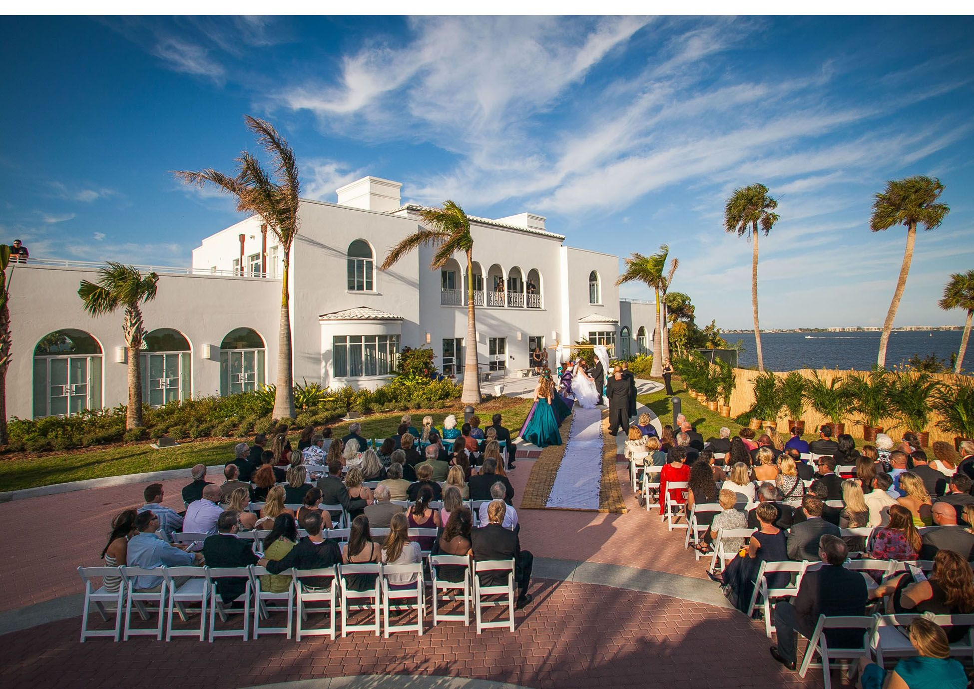 Wedding At The Mansion