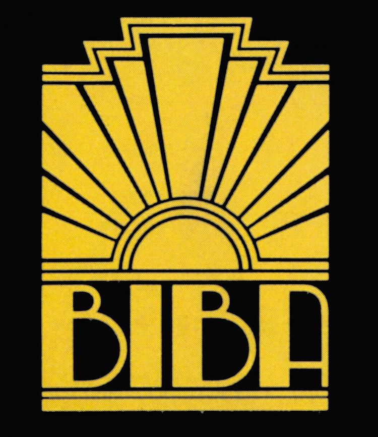 Celebrating Biba The Deco Haus: Art Deco Logo- I Love This Because It Plays Off The Golden