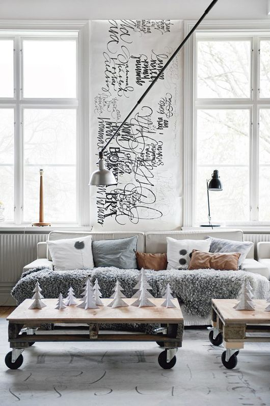 Love the tables! | Inspiratie woonkamer | Pinterest - Tekenen ...