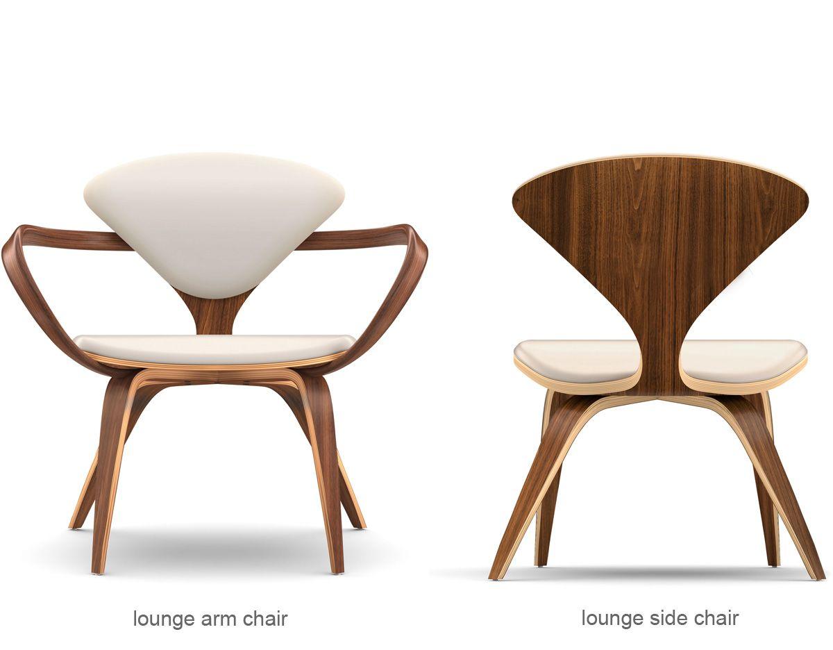 Cherner Lounge Side Chair By Benjamin Cherner