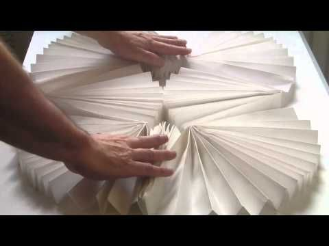 the larder kinetic paper sculpture - YouTube