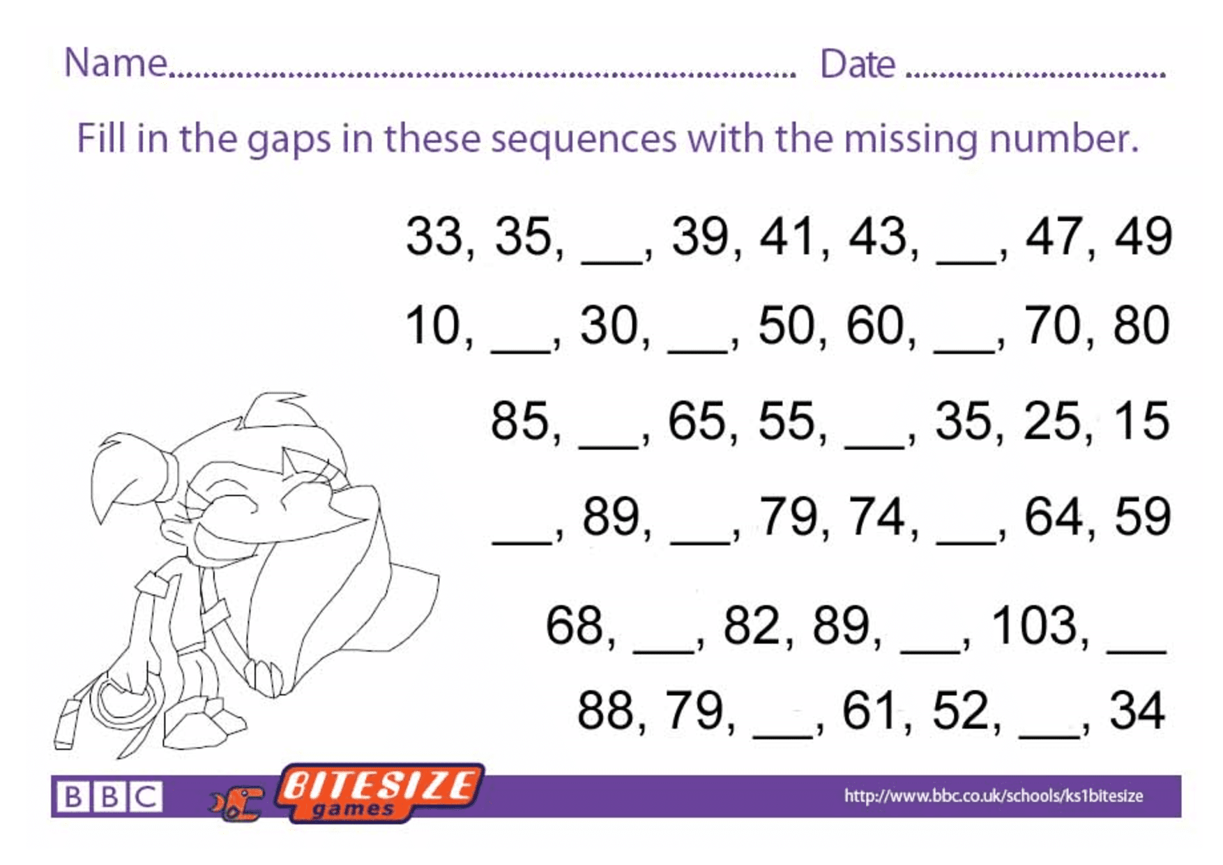 Printable Maths Worksheets Ks1 In With Images