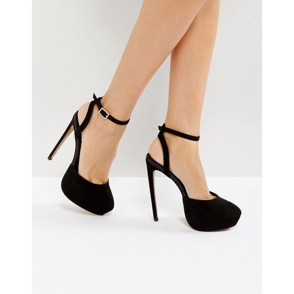dbd0ec74742 ASOS PAULA Platform Heels ( 53) ❤ liked on Polyvore featuring shoes ...