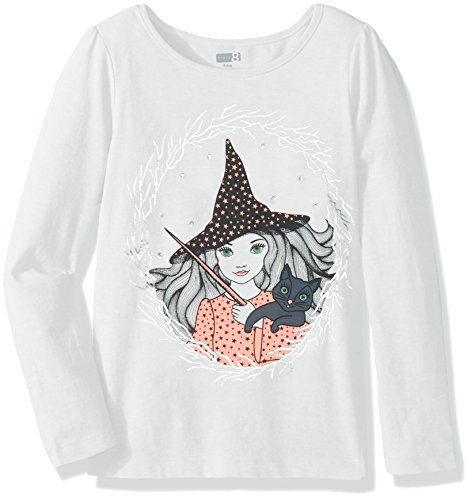 1599e194e51a Crazy 8 Big Girls Embellished Graphic Tee Witch XS -- Click image for more  details.Note:It is affiliate link to Amazon.