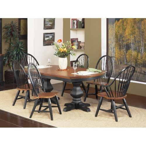 Patio Furniture Repair St Paul Mn: Riverside Pedestal Table With 4 Windsor Side Chairs