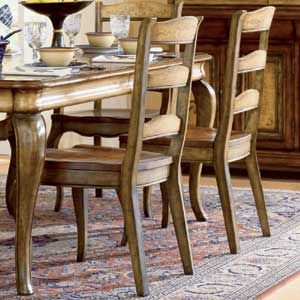 Vineyard Rectangle Dining Table With Two Leaves By Hooker Furniture